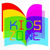 Kids Zone Indicates Social Club And Apply