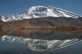 Muztagh Ata and Karakul Lake