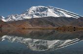 Muztagh Ata and Karakul Lake