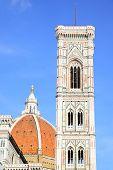 Campanile di Giotto and Duomo di Firenze, Florence, Italy