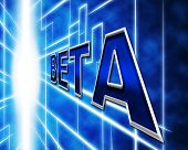 Software Beta Indicates Online Program And Programming
