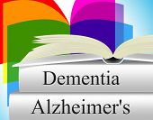 Dementia Alzheimers Shows Alzheimer's Disease And Confusion