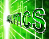 Analytics Web Shows Websites Measurement And Optimizing