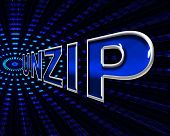 File Unzip Represents Files Business And Document