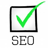 Seo Tick Shows Passed Online And Search