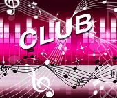 Club Disco Shows Sound Track And Acoustic