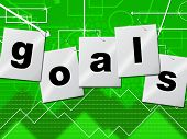 Goals Targets Means Plans Aspirations And Aims