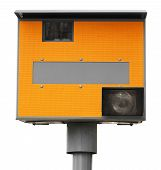 Yellow Traffic Speed Camera