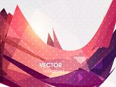Abstract Business Background. For Infographics, Templates, Posters, Business Cards and Flyers. Techn