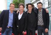 LOS ANGELES - MAY 09:  Rick Springfield, Doug Davidson, Richard Marx & Jason Thompson arrives to the