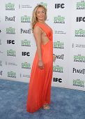 LOS ANGELES - MAR 01:  Elisabeth Rohm arrives to the Film Independent Spirit Awards 2014  on March 0