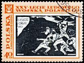 Polish Post Stamp