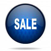 sale internet blue icon
