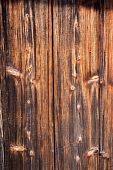 Richly Aged And Textured Wood Siding