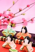 foto of doll  - Japanese Traditional Doll An image of Hina Doll - JPG