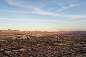 Aerial View Of North Las  Vegas