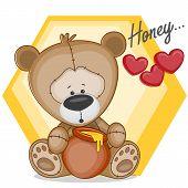 Teddy With Honey