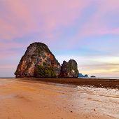 Sunset at Krabi