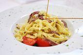 Fettuccine Alfredo Style