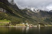 Landscape near Neyroforda. Norway.