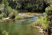 River gorges Cabriel,natural park in Spain