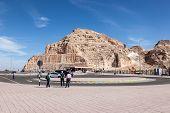 Top Of The Jebel Hafeet Mountain