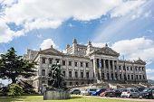 Government Palace Legislativo in Montevideo, Uruguay