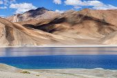 Pangong Tso (lake), Leh, Ladakh, Jammu And Kashmir, India