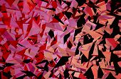picture of pinky  - Geometric Triangles Backdrop Illustration - JPG