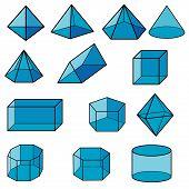 3D Geometric For Kid Vector.eps