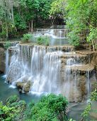 Tropical Rainforest Waterfall, Thailand