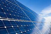Solar Panels Closeup