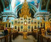 Interior Of Belarussian Orthodox Church Cathedral of St. Peter a