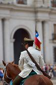 Mounted Carabineros