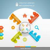 Safe protection infographics