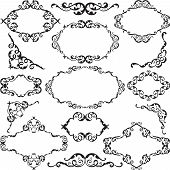 Victorian Swirl Ornate Set