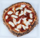 pic of mesquite  - Pepperoni and Mozzarella Cheese Wood Fired in a brick oven with mesquite wood - JPG