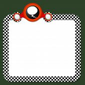 foto of bubble sheet  - Abstract frame for your text and speech bubble - JPG