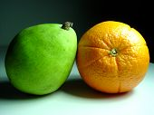 Orange With Pear