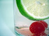 Cherry Lime Refreshment