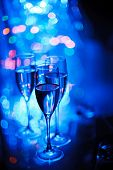 stock photo of club party  - party in the night club - JPG