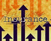 Insurance Word Indicates Covered Coverage And Contract poster