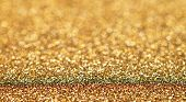 Glitter Golden Bokeh, Golden Background, Golden Light, Glitter Light, Bokeh Background, Abstract Bac poster