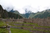 Houses for citizens at Machu Picchu