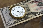 Time And Money Concept Image