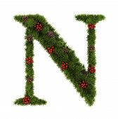 Christmas Alphabet.