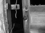 Door Opening Into Darkness