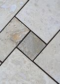 Sheet Of Travertine Tiles