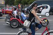 Summer Traffic In Berlin