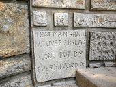 Bible Wall Inscription